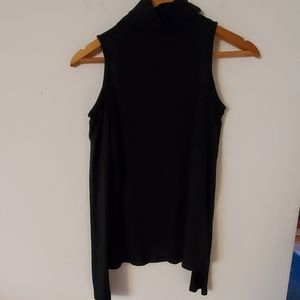 Cache Black Long Sleeve Blouse - No Size